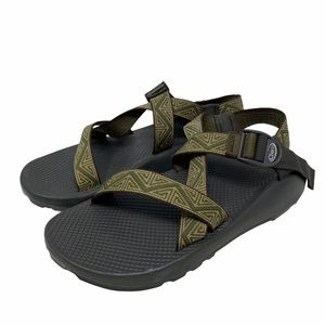 Chaco Z/1 Classic Mens Green Straps Size 11